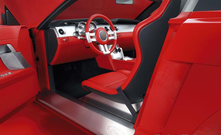 2005 mustang pictures interior