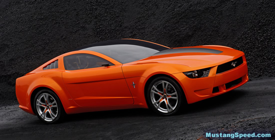 2009 Mustang Concept Front