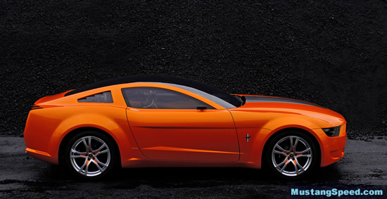 2009 Mustang Features