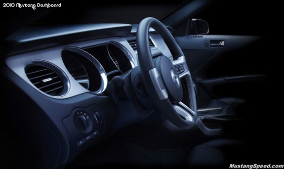2010 Ford Mustang Dashboard