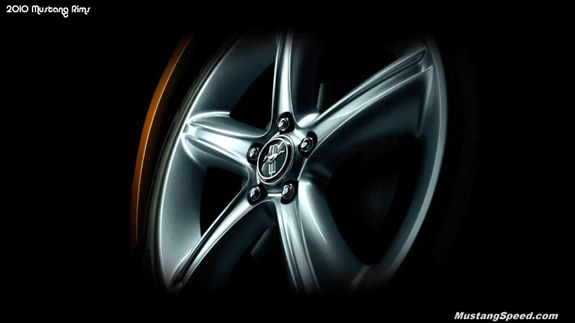 2010 Ford Mustang Rims
