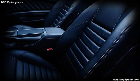 2010 Ford Mustang Seats
