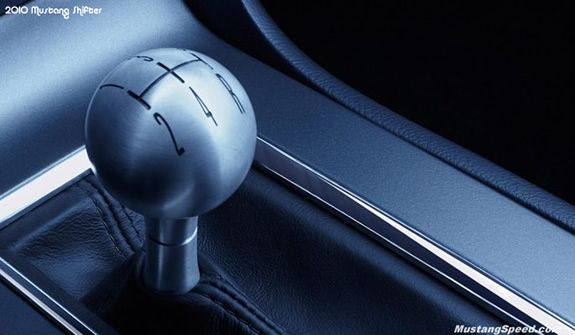 2010 Ford Mustang Shifter
