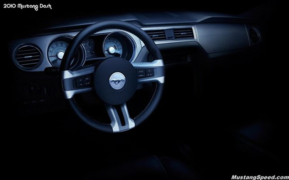 2010 Ford Mustang Dash