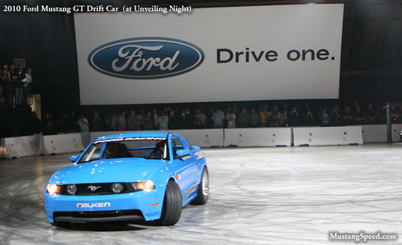 2010 Ford Mustang Drift Car