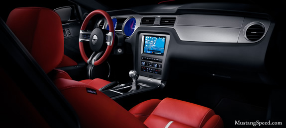2010 Mustang Interior Pictures