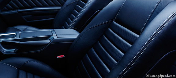 2010 Mustang Leather Seats