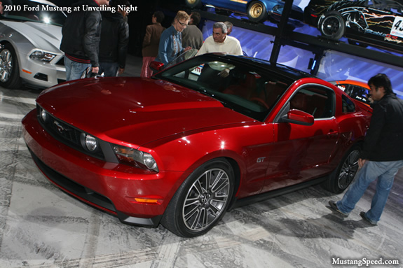 2010 Ford Mustang Unveiling